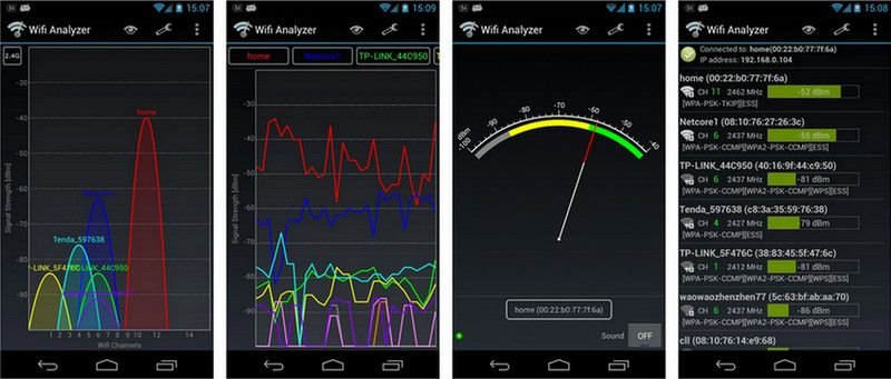 android systemrepair wifi analyzer