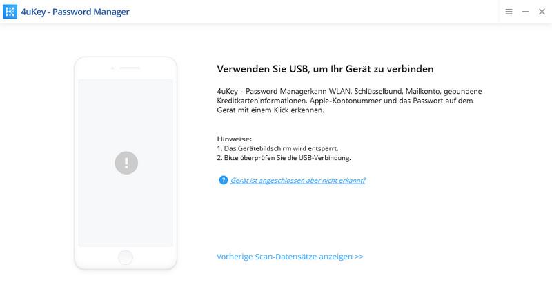 iOS-Gerät verbinden