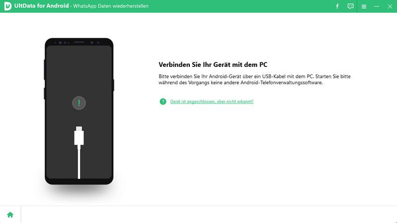 Android-Gerät verbinden