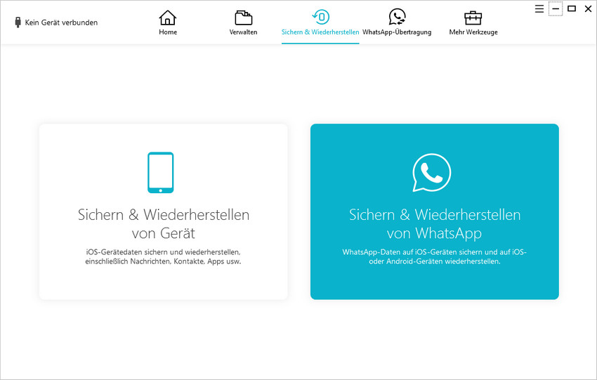 whatsapp sichern