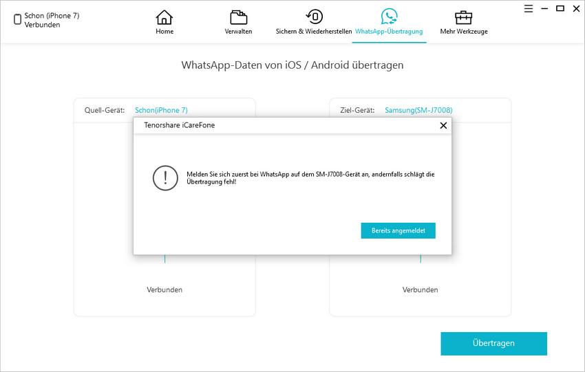 whatsapp sicher einzutreten