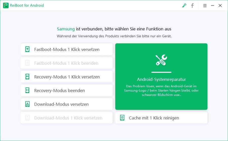 Android-System reparieren