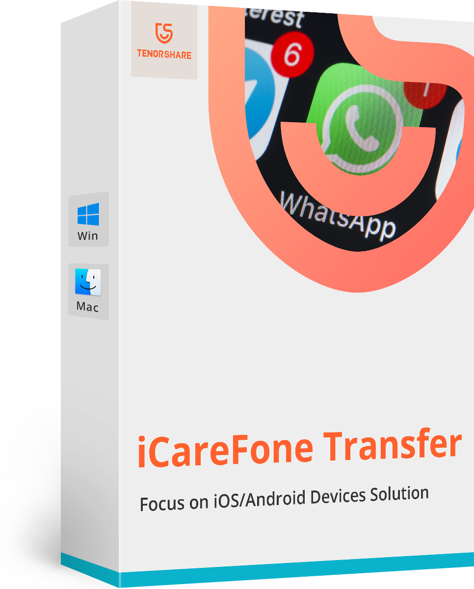 Tenorshare iCareFone for WhatsApp Transfer (Mac)