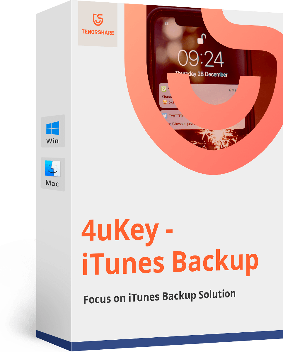 Tenorshare 4uKey - iTunes Backup (Mac)