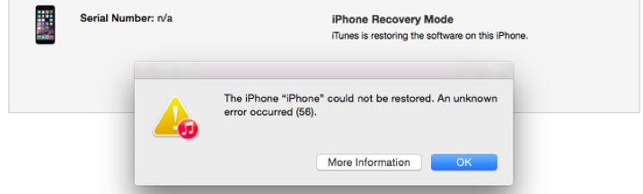 Reiboot iTunes fehler